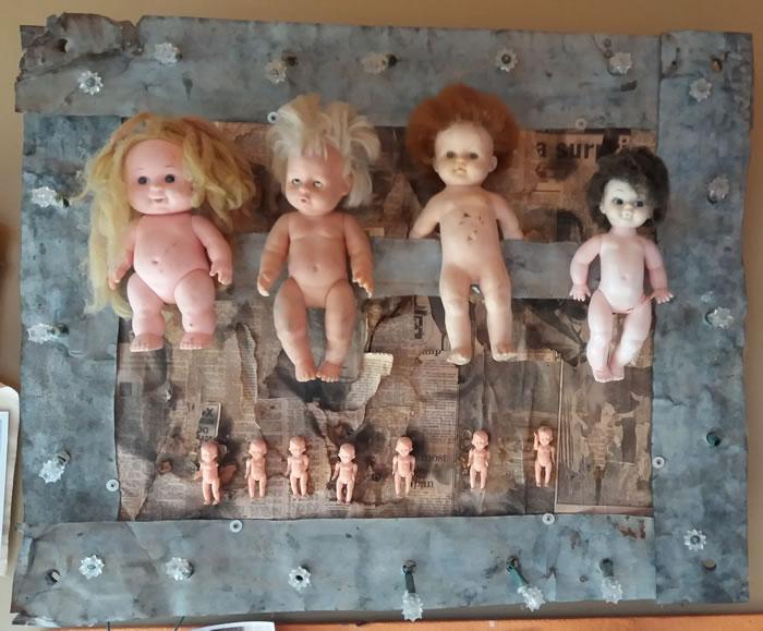 Brebner doll art
