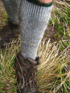 tramping sock
