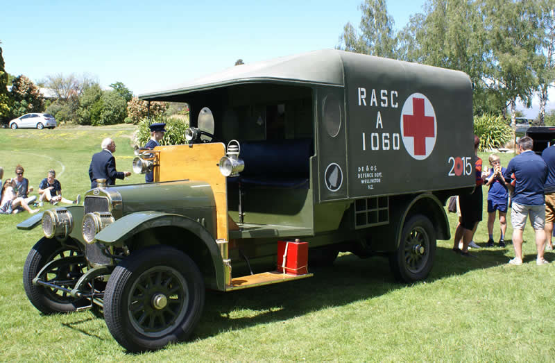 WW1 ambulance
